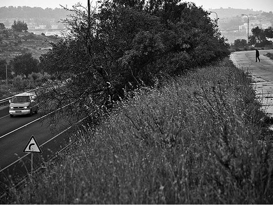 כביש 60 הישן והחדש סמוך לנוה דניאל / צלם: אדוארד קפרוב